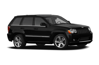 side view of 2010 Grand Cherokee Jeep