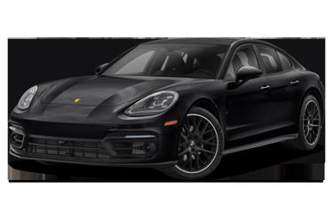 side view of 2021 Panamera Porsche