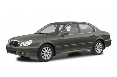 side view of 2003 Sonata Hyundai