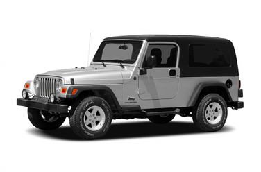 side view of 2006 Wrangler Jeep
