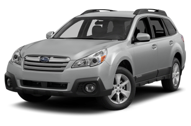 side view of 2014 Outback Subaru