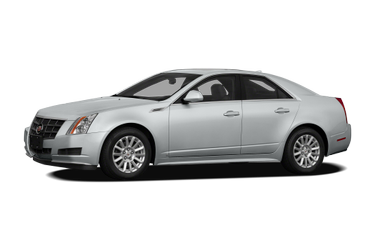 side view of 2010 CTS Cadillac