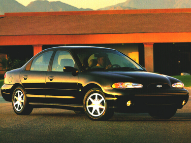 side view of 1997 Contour Ford