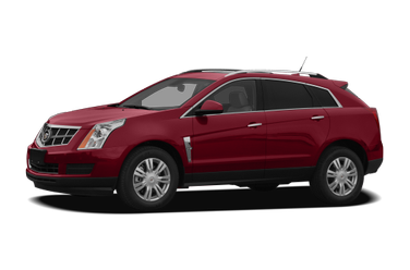 side view of 2010 SRX Cadillac