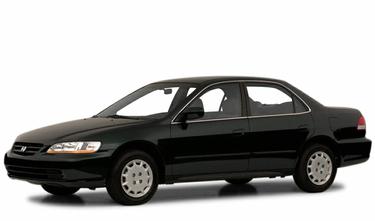 side view of 2001 Accord Honda