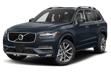 side view of 2019 XC90 Volvo