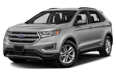 side view of 2018 Edge Ford