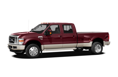 side view of 2009 F-450 Ford