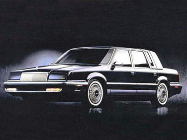side view of 1993 New Yorker Chrysler