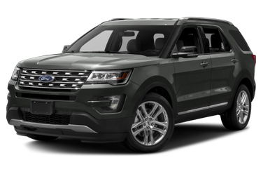 side view of 2017 Explorer Ford