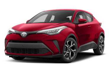 side view of 2020 C-HR Toyota