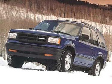 side view of 1992 Navajo Mazda