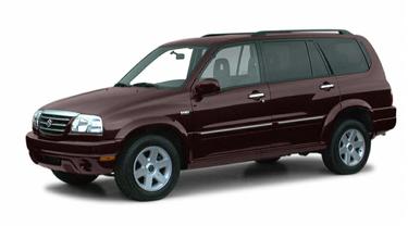 side view of 2001 XL7 Suzuki