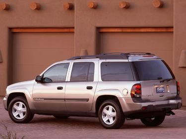side view of 2003 TrailBlazer EXT Chevrolet