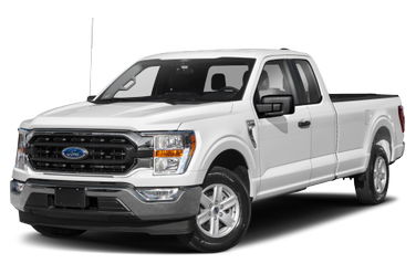 side view of 2021 F-150 Ford