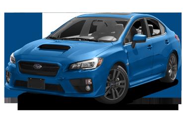 side view of 2017 WRX Subaru