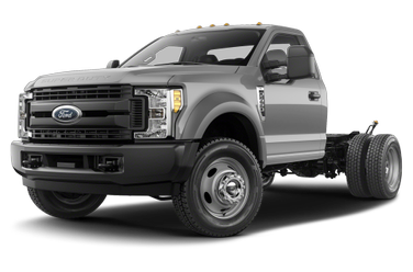 side view of 2019 F-450 Ford