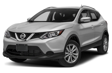 side view of 2017 Rogue Sport Nissan