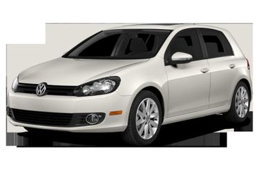 side view of 2014 Golf Volkswagen