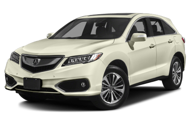 side view of 2017 RDX Acura