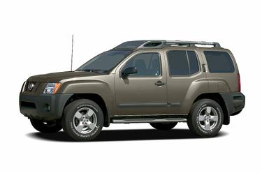 side view of 2005 Xterra Nissan