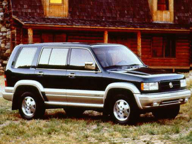 side view of 1997 SLX Acura