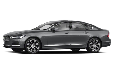 side view of 2021 S90 Recharge Plug-In Hybrid Volvo