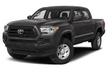side view of 2020 Tacoma Toyota