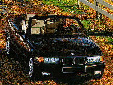 side view of 1998 328 BMW