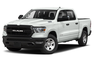 side view of 2019 1500 RAM