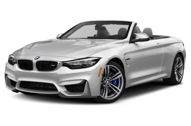 side view of 2019 M4 BMW