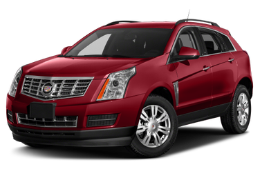 side view of 2013 SRX Cadillac