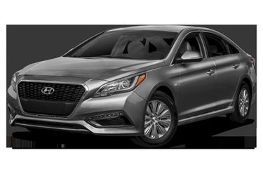 side view of 2016 Sonata Hybrid Hyundai