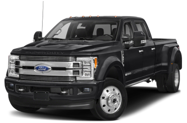 side view of 2018 F-450 Ford