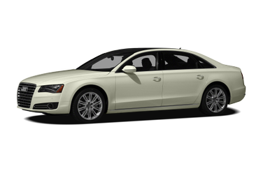 side view of 2012 A8 Audi