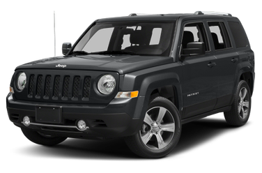 side view of 2015 Patriot Jeep