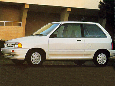 side view of 1992 Festiva Ford