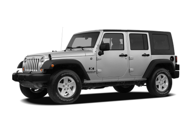 side view of 2007 Wrangler Jeep