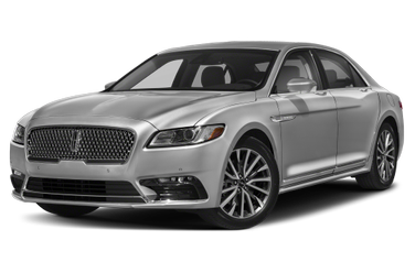 side view of 2017 Continental Lincoln