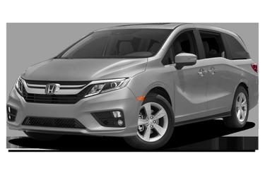 side view of 2018 Odyssey Honda