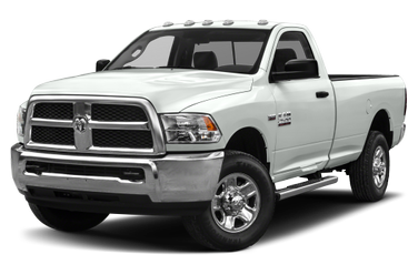 side view of 2014 2500 RAM