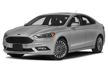 side view of 2017 Fusion Hybrid Ford