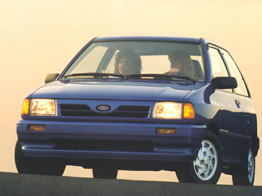 side view of 1993 Festiva Ford