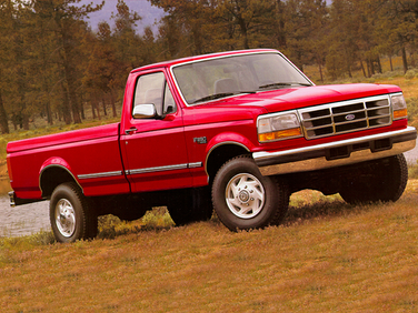 side view of 1994 F-250 Ford