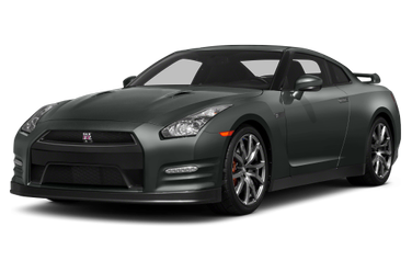 side view of 2014 GT-R Nissan