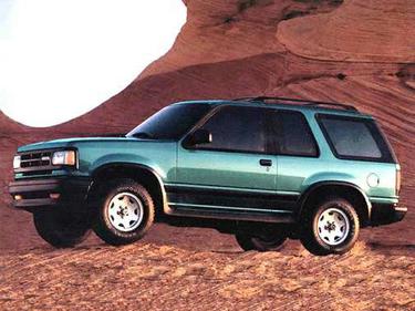 side view of 1993 Navajo Mazda