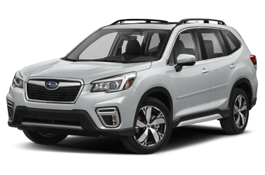 side view of 2019 Forester Subaru
