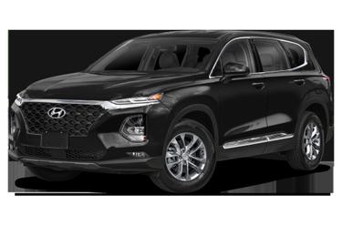 side view of 2020 Santa Fe Hyundai
