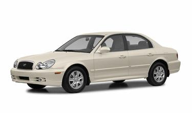 side view of 2002 Sonata Hyundai