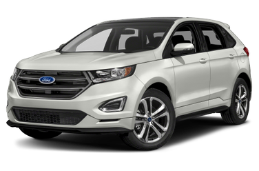 side view of 2016 Edge Ford